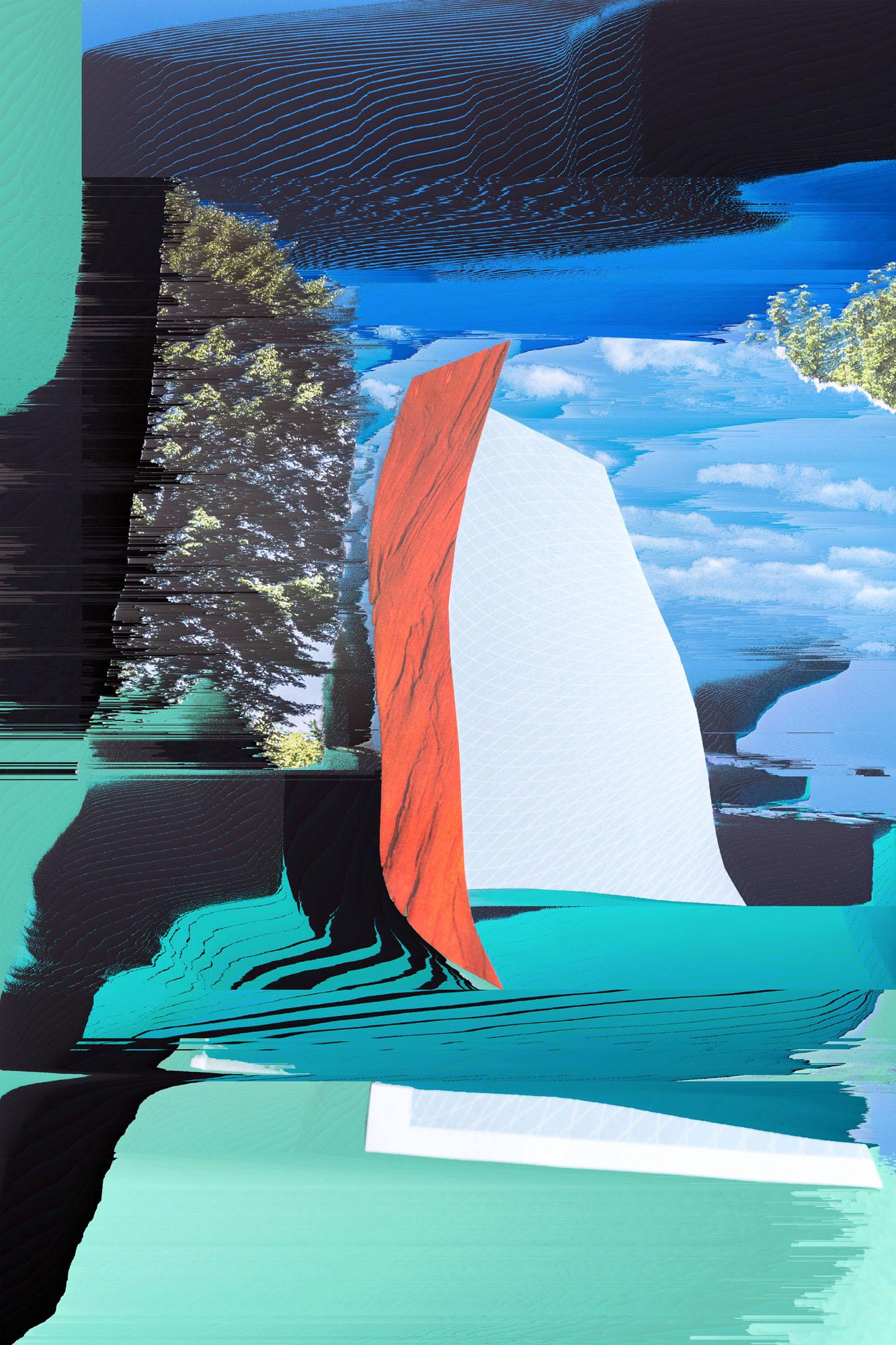Ewa Doroszenko – Generated Island 01, obraz cyfrowy