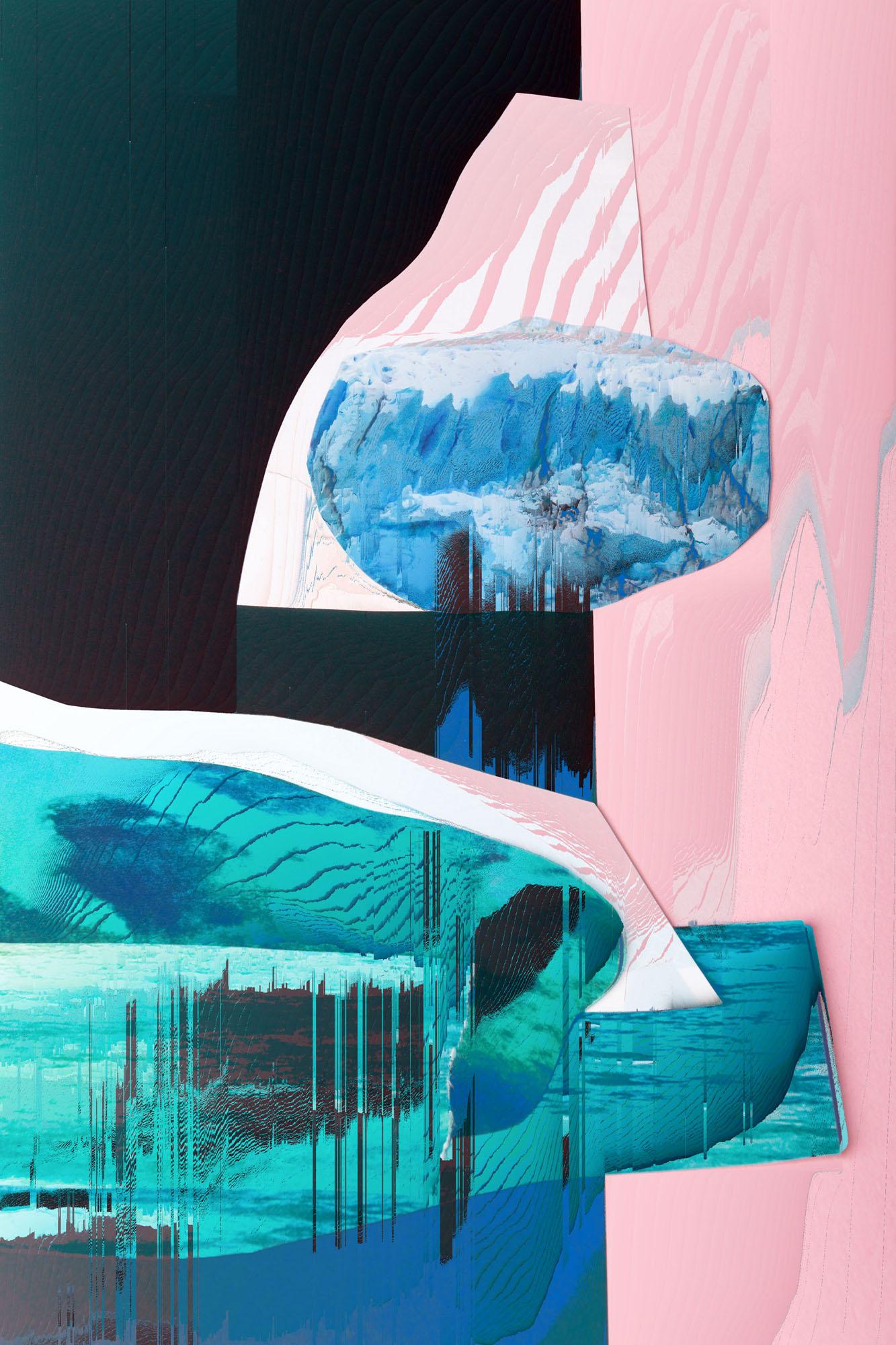 Ewa Doroszenko – Generated Island 02, obraz cyfrowy