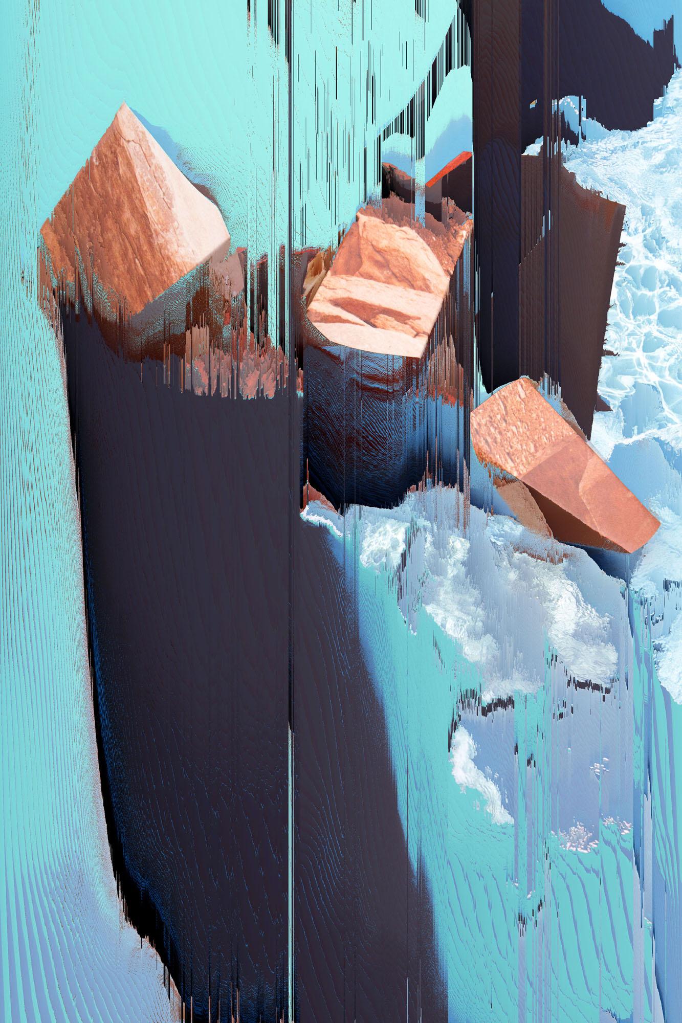 Ewa Doroszenko – Generated Island 06, obraz cyfrowy