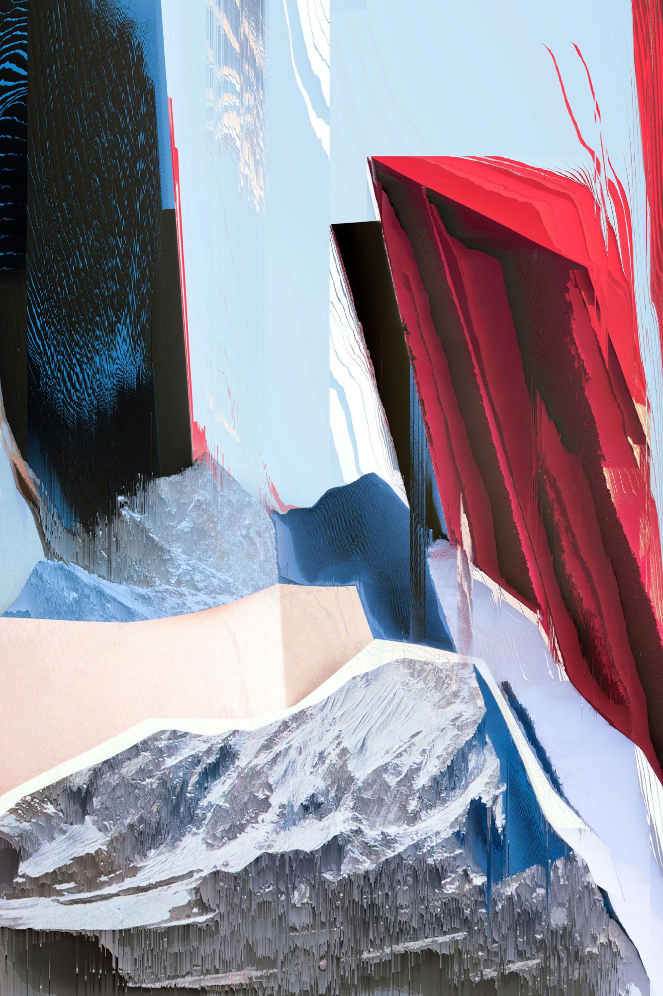 Ewa Doroszenko – Generated Island 08, obraz cyfrowy