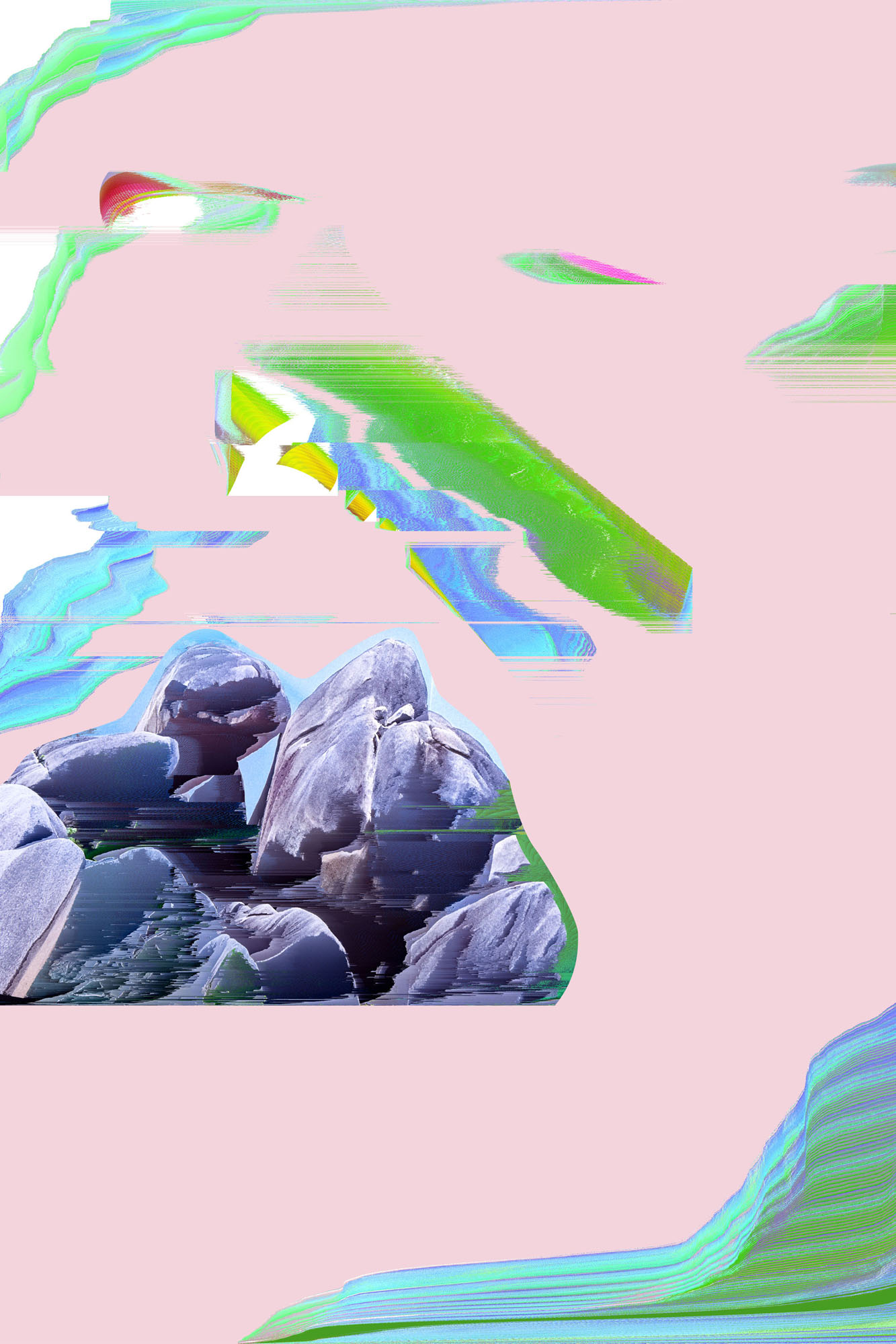 Ewa Doroszenko – Generated Island 11, cyfrowe malarstwo