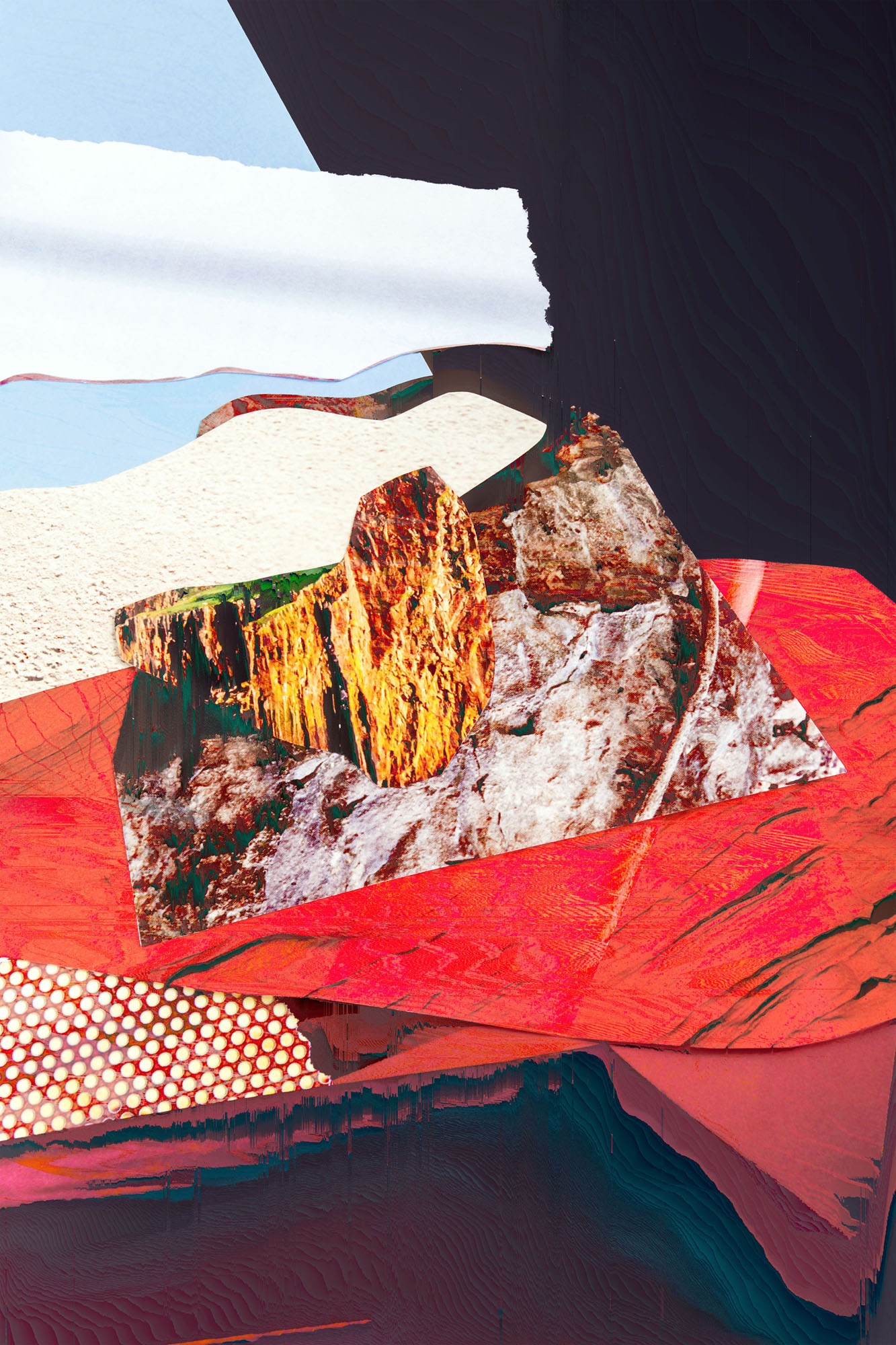 Ewa Doroszenko – Generated Island 12, cyfrowe malarstwo