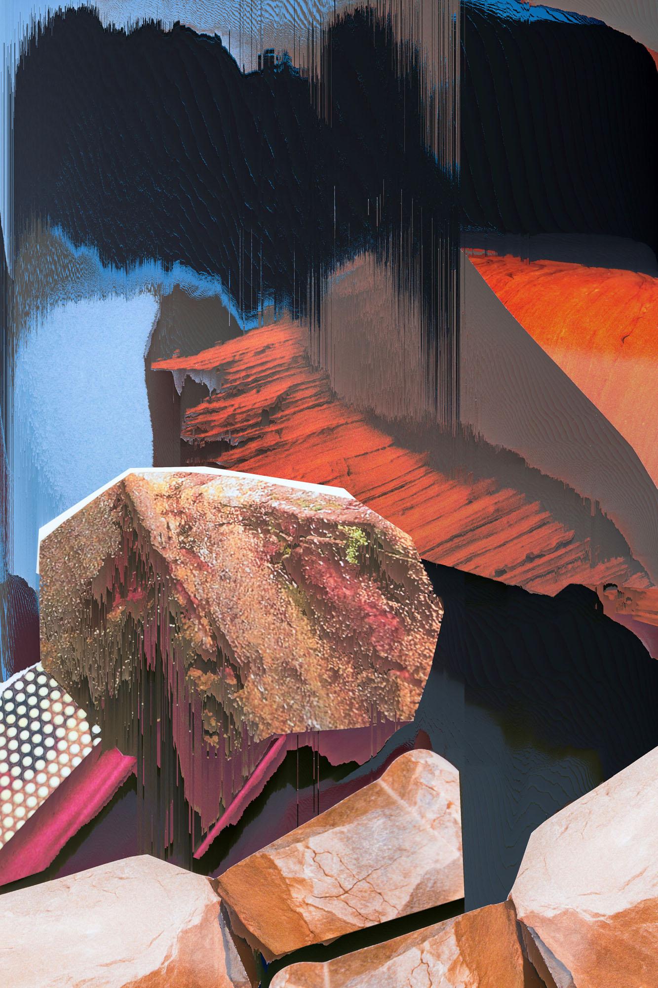 Ewa Doroszenko – Generated Island 13, cyfrowe malarstwo