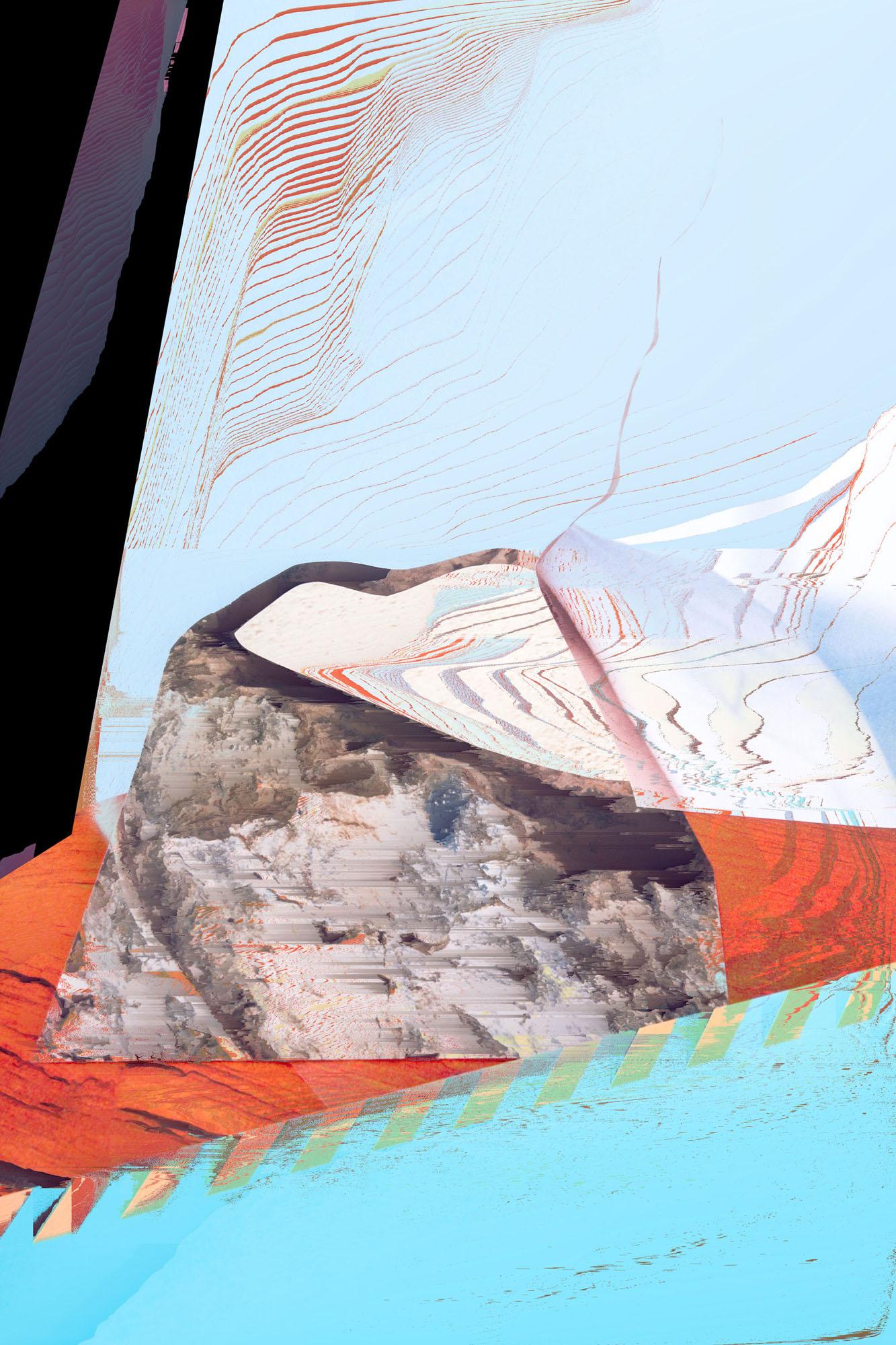 Ewa Doroszenko – Generated Island 17, cyfrowe malarstwo