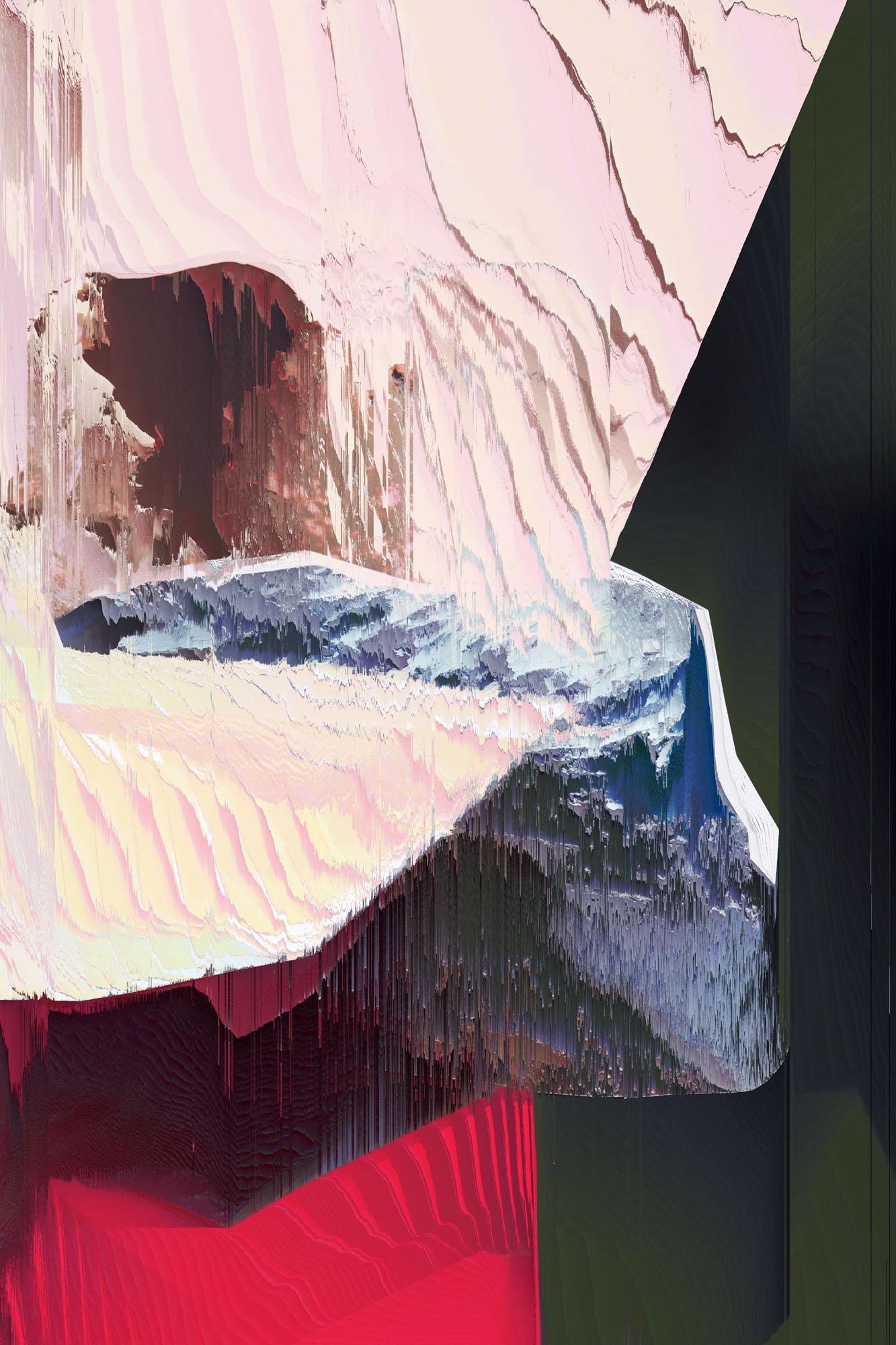 Ewa Doroszenko – Generated Island 20, cyfrowe malarstwo