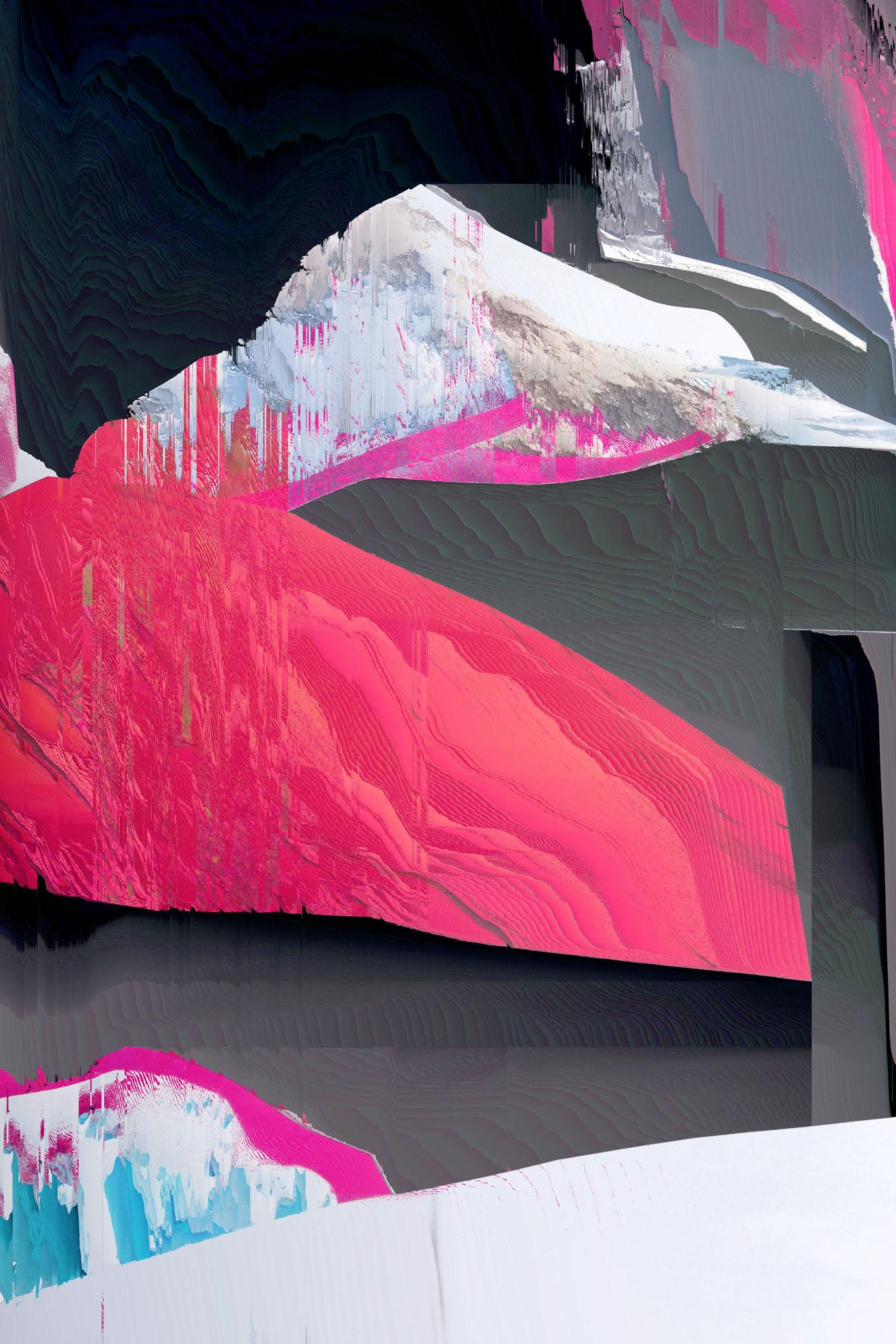 Ewa Doroszenko – Generated Island 21, cyfrowe malarstwo