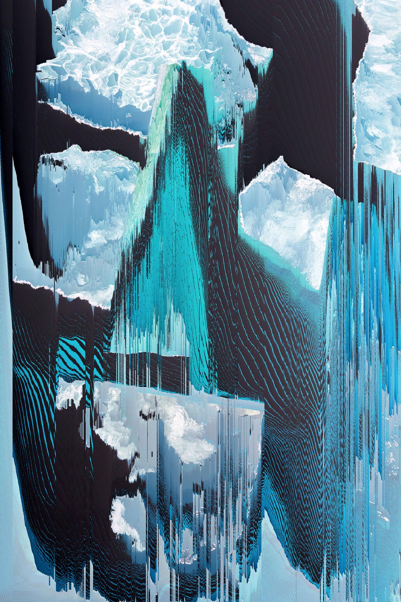 Ewa Doroszenko – Generated Island 22, cyfrowe malarstwo