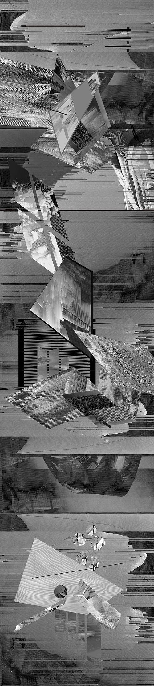 Ewa Doroszenko – Structures of listening - print 01