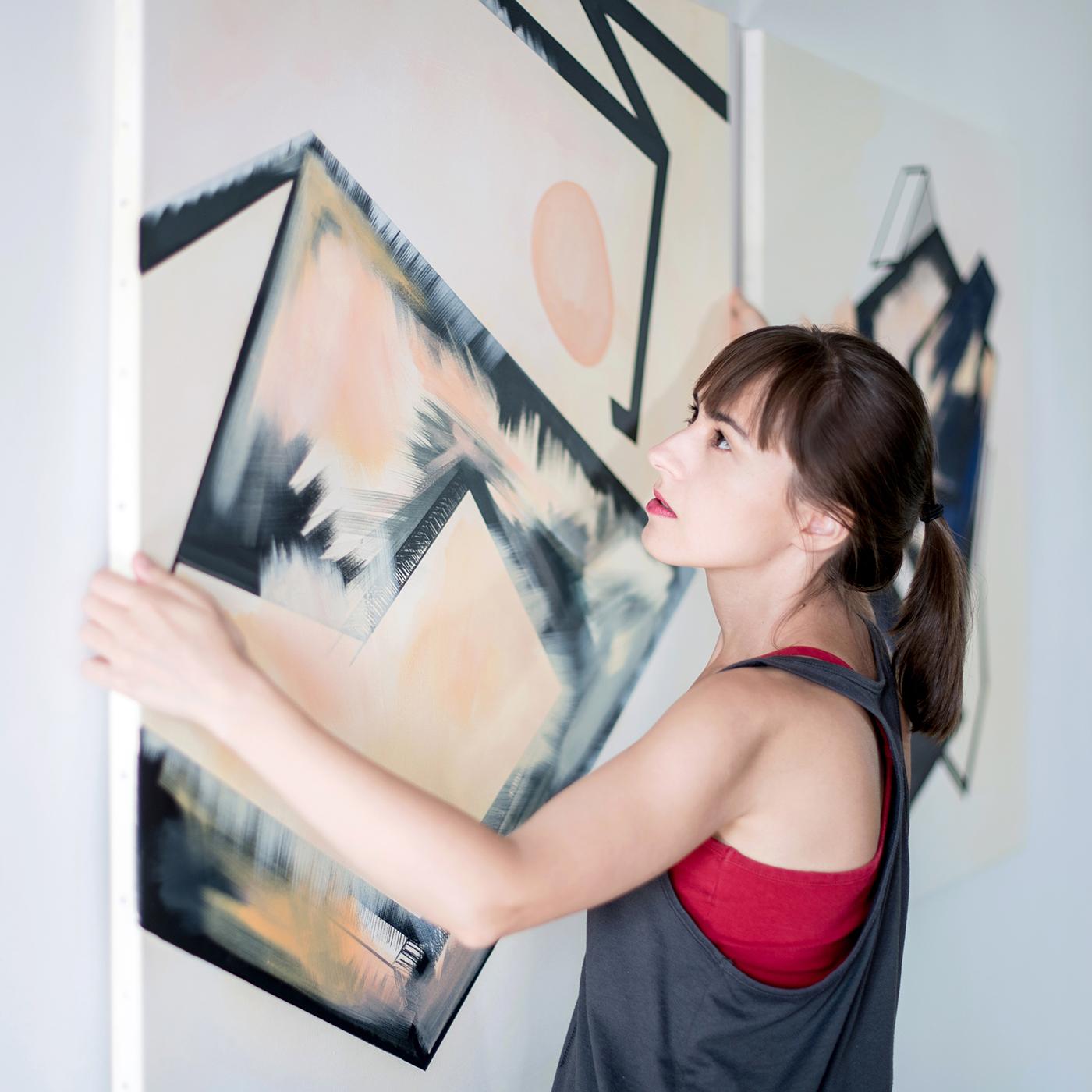 dr Ewa Doroszenko – malarstwo 01