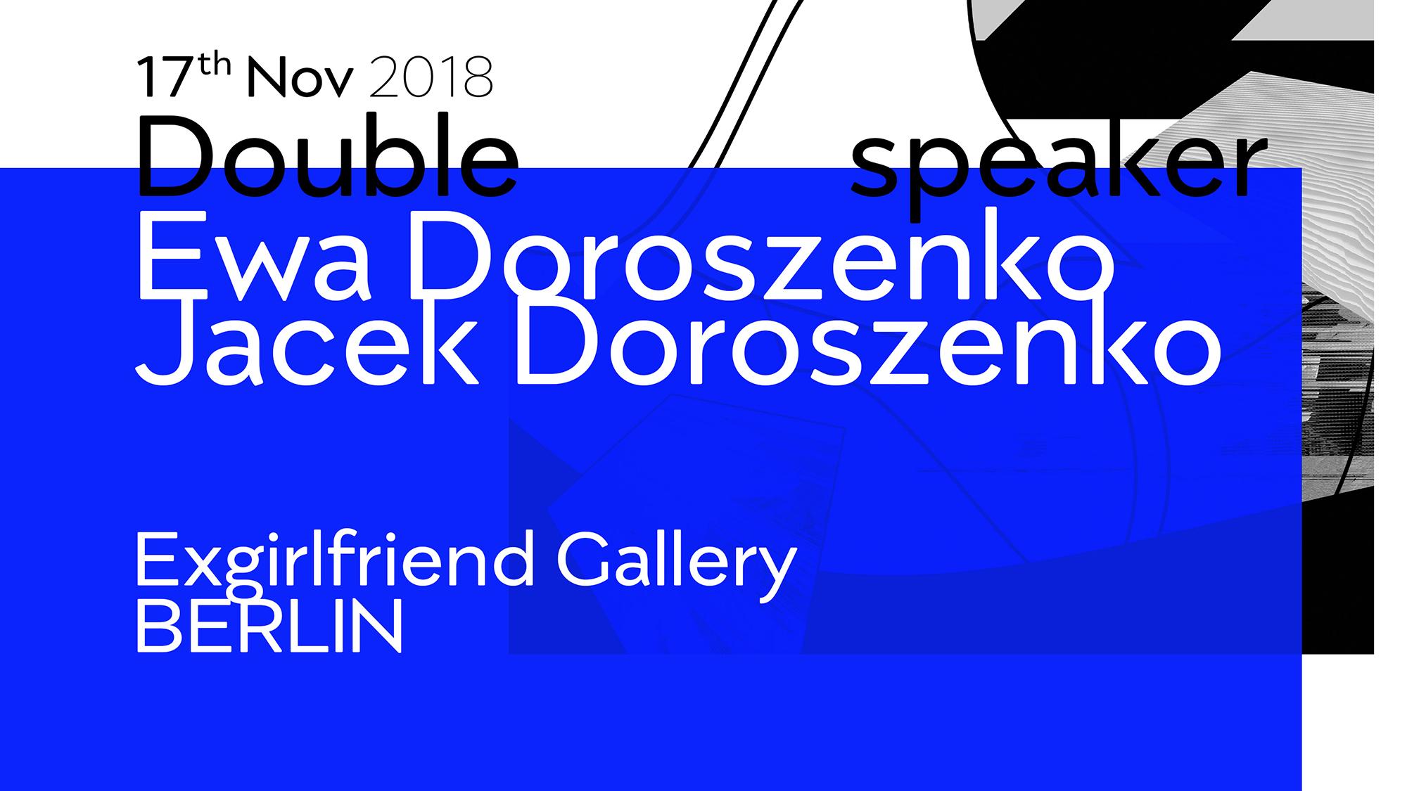 Ewa Doroszenko – Exgirlfriend Gallery Berlin, exhibition