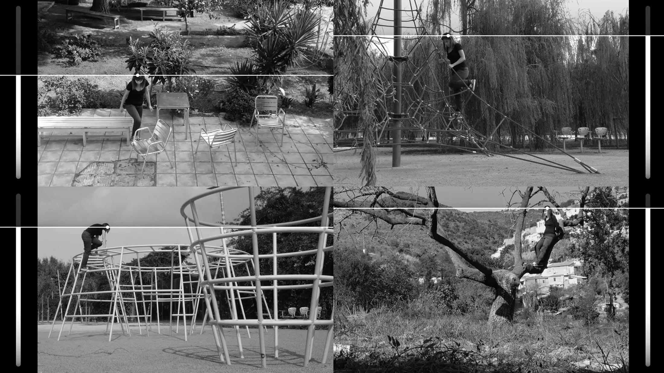 Ewa Doroszenko – The same horizon repeated at every moment of the walk, video 02