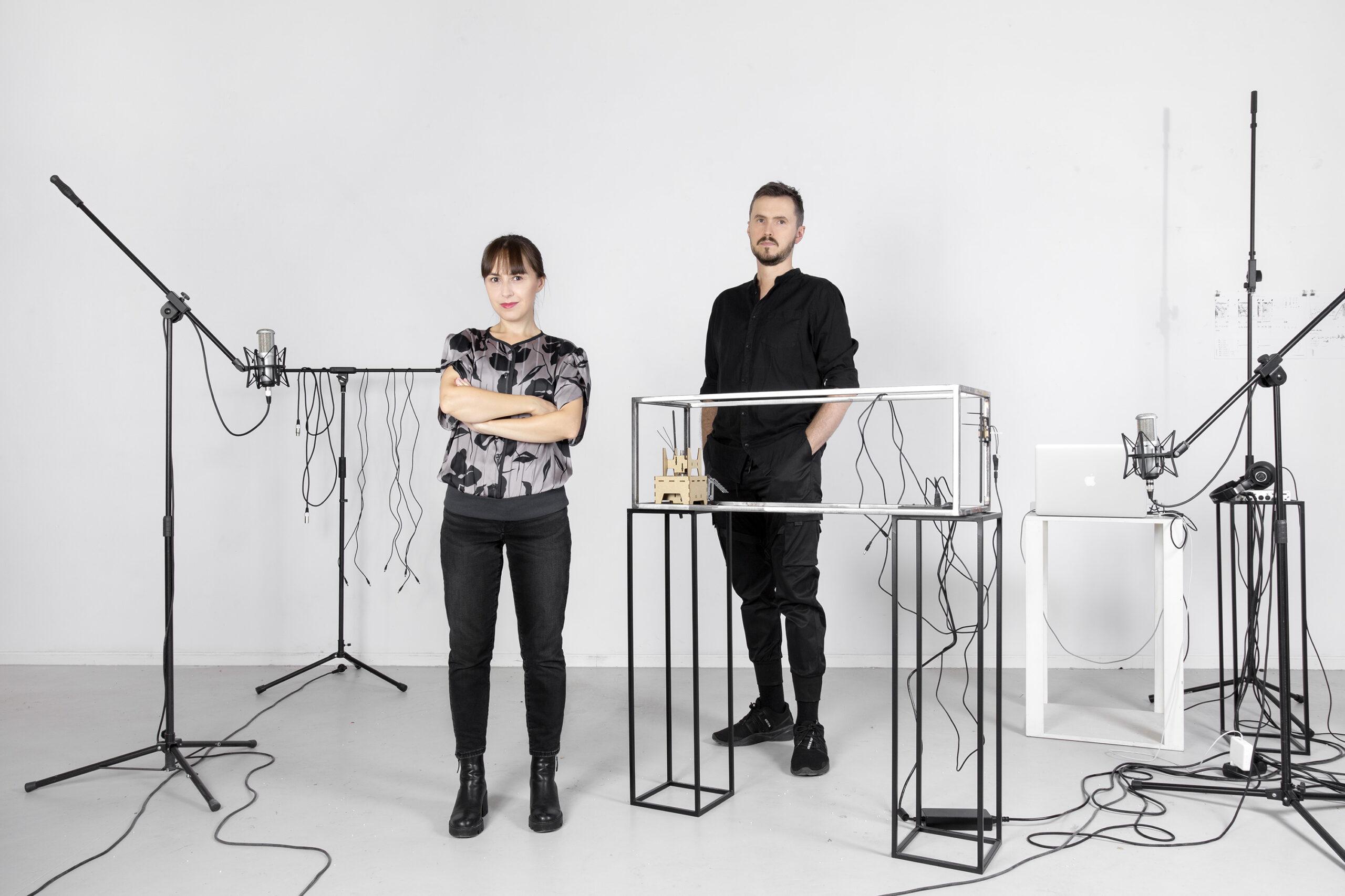 Ewa Doroszenko, Jacek Doroszenko – artystka iartysta wpracowni