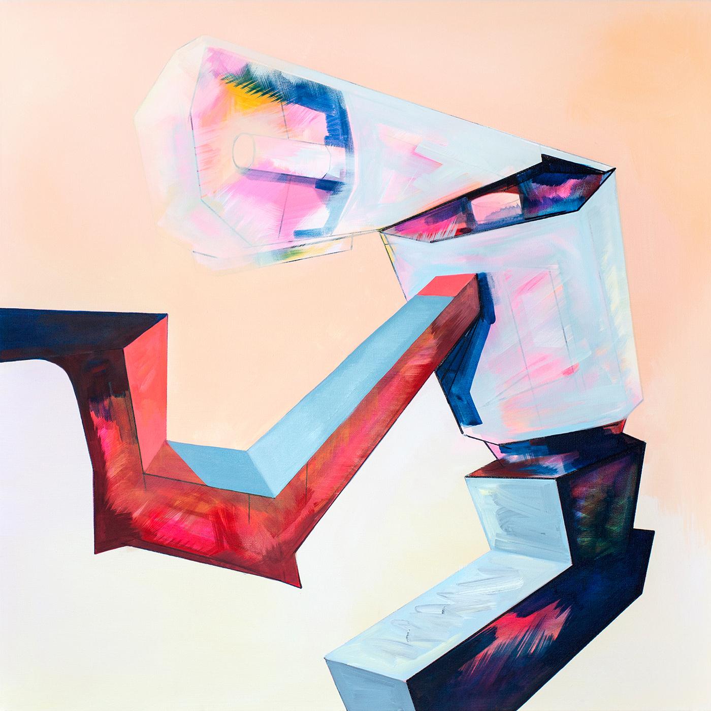 Ewa Doroszenko – obraz, olej i akryl na płótnie 01