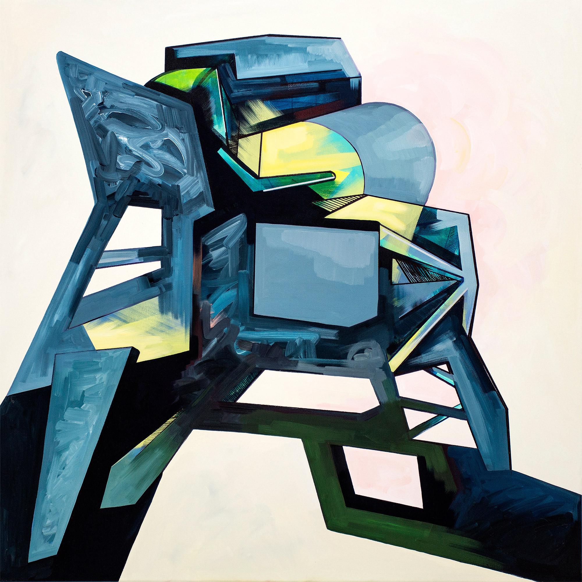 Ewa Doroszenko – obraz, olej i akryl na płótnie 03