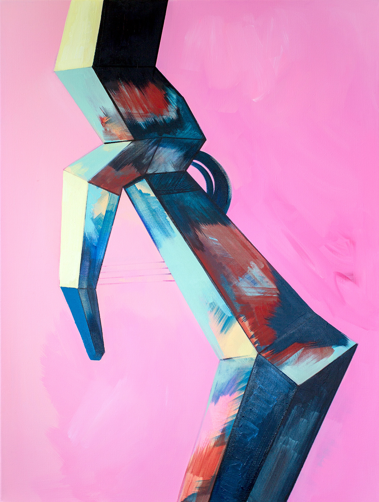 Ewa Doroszenko – obraz, olej i akryl na płótnie 12