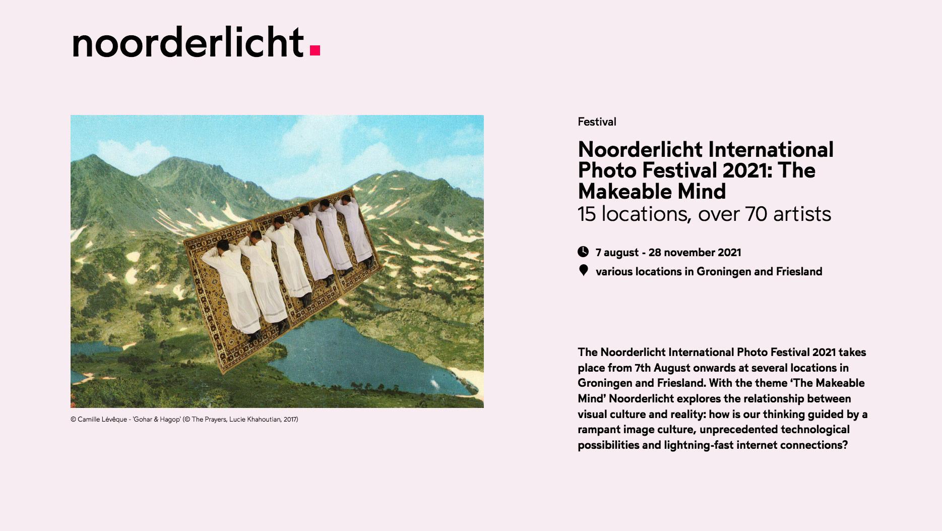 Noorderlicht International Photo Festival - Ewa Doroszenko