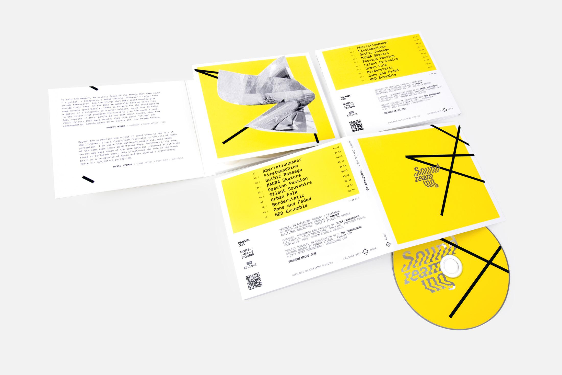 Jacek Doroszenko - Soundreaming, music album 03